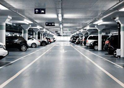 Tratamiento con resina Epoxi para Suelos de Parking